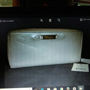 Authentic Cole Hana champagne Wallet